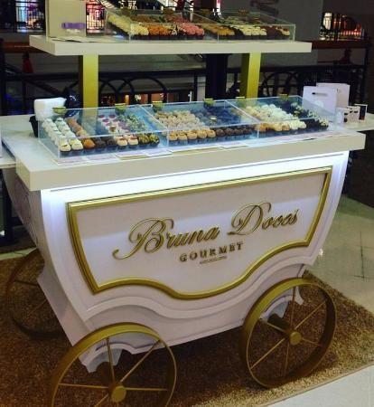 Quiosque Bruna Doces Gourmet Shopping Iguatemi Florianopolis