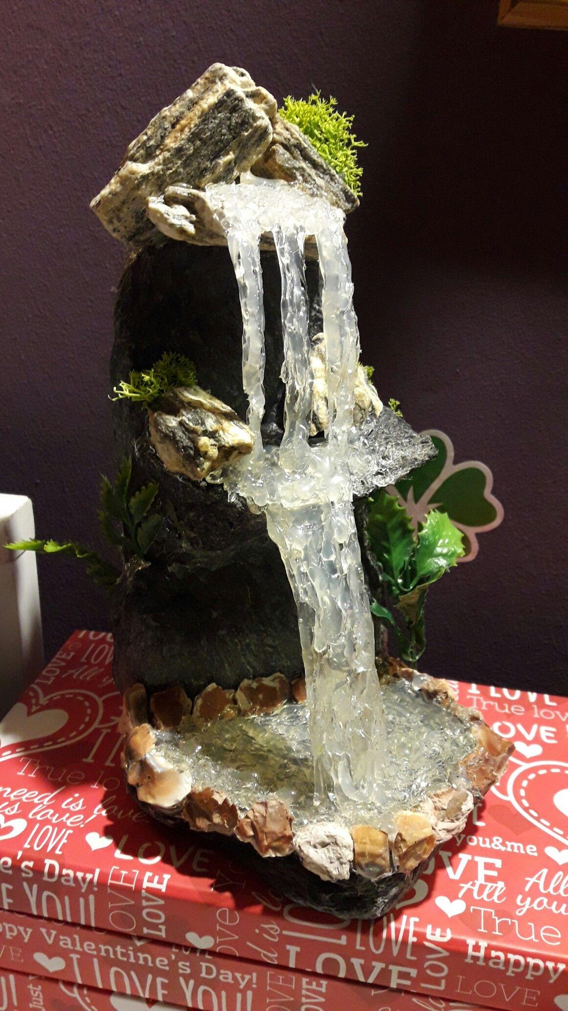 My Next Waterfall Hot Glue Waterfall Craft Idea Diy