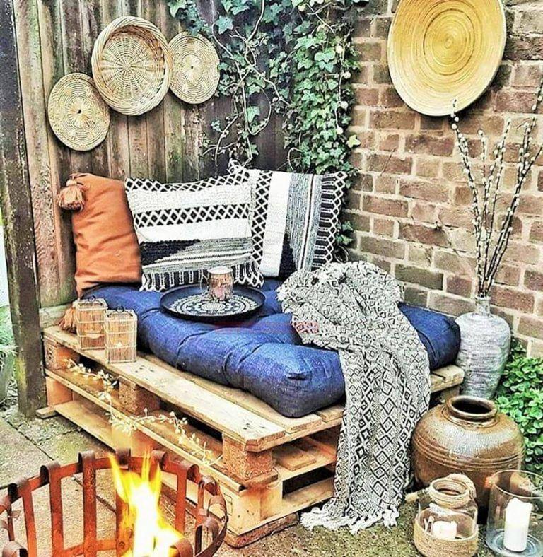 Diy Pallet Outdoor Furniture Ideas For Better Homes Gardens Diy Motivations Teras Fikirleri Ev Dekorasyon Fikirleri Balkonlar