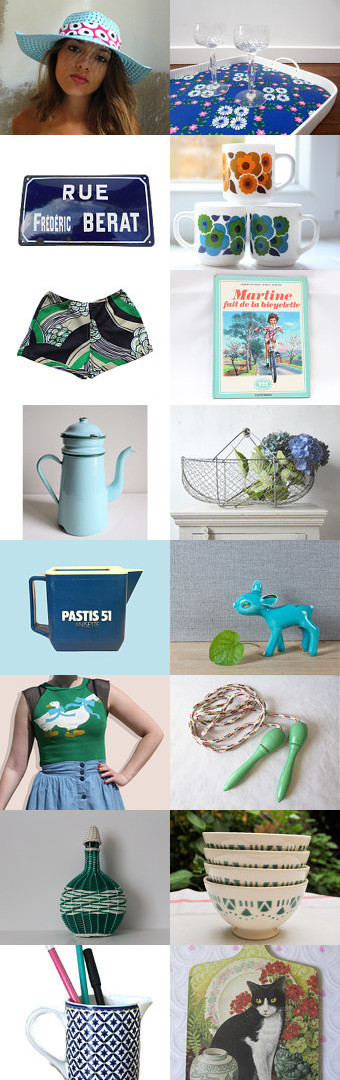 My French holidays by Victor on Etsy--Pinned with TreasuryPin.com #Etsy #EtsyFR #FrenchVintage #French #vintage #VintageFinds #vintagefr #retro #holidays #vacation #summer #nostalgia