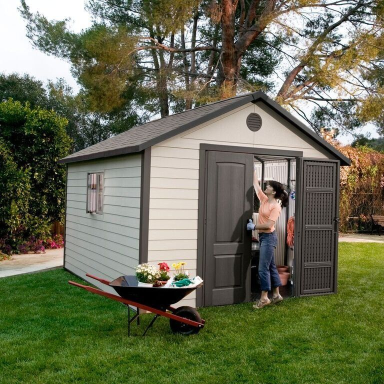 Lifetime 11 ft. x 13.5 ft. Outdoor Storage Shed Building