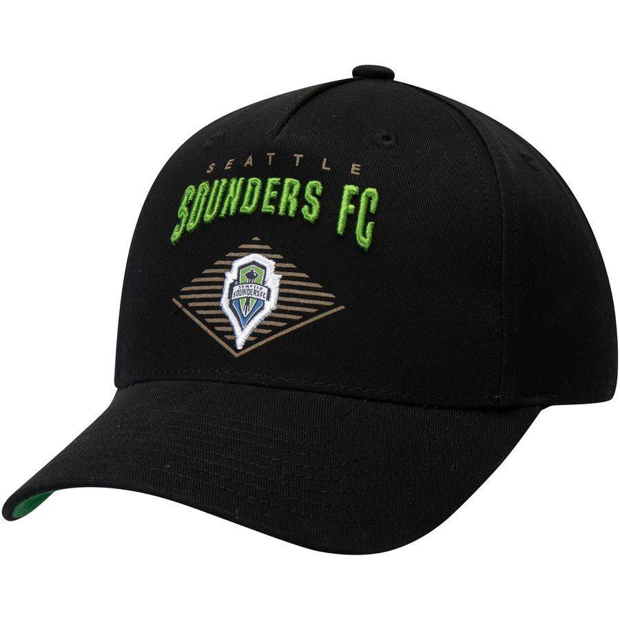 b974ce7a43e Men s Seattle Sounders FC Fanatics Branded Rave Green Core Cuffed Knit Hat