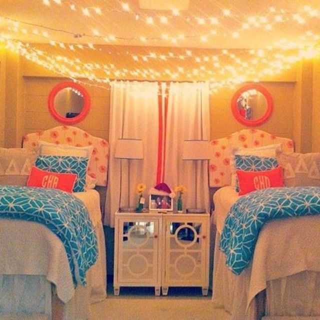 20 Creative College Apartment Decor Ideas: 20 Dorm Rooms So Stylish You'll Wish They Were Yours