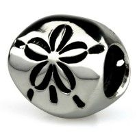 Ohm Beads - Sand Dollar (Oh goodness, I may just have to start an Ohm Beads bracelet! lol)