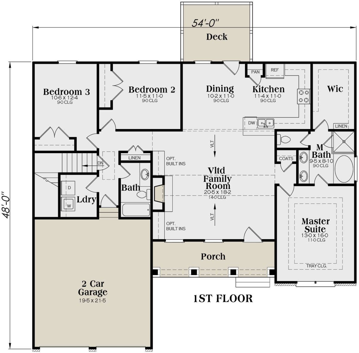 House Plan 009 00025 Country Plan 1 566 Square Feet 3 Bedrooms 2 Bathrooms Best Home Plans House Plans Tiny House Plans
