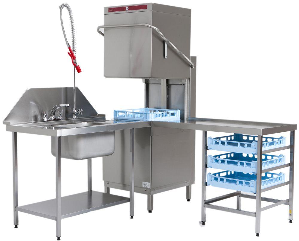 Commercial restaurant dishwashers visit