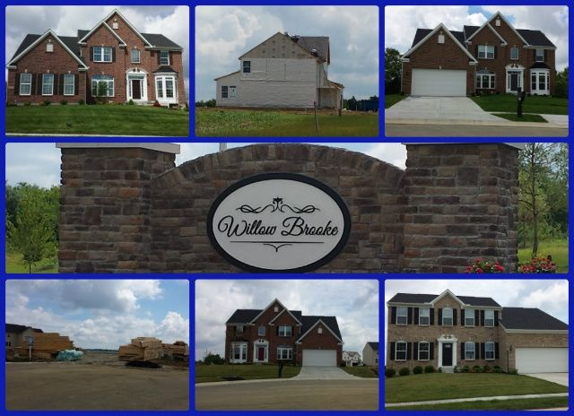 Willow Brooke community of Mason Ohio 45040.  Ryan Homes new construction, but KINGS Schools.
