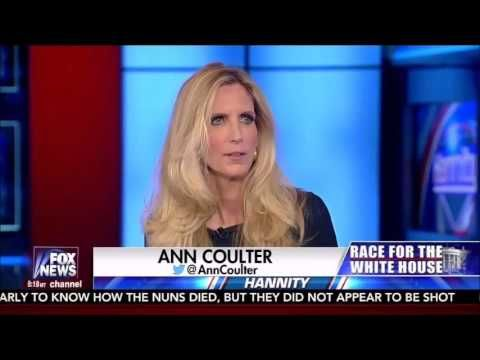 Ann Coulter on The Sean Hannity Radio Show (10/20/2016)