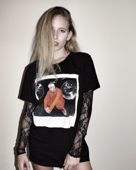 0b5a6127 Lose yourself in this tee // Eminem Jumpsuit T-Shirt | s t y l e in ...