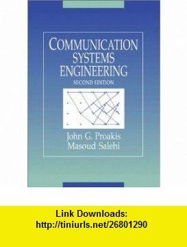 Communication systems engineering by john g. Proakis, masoud.