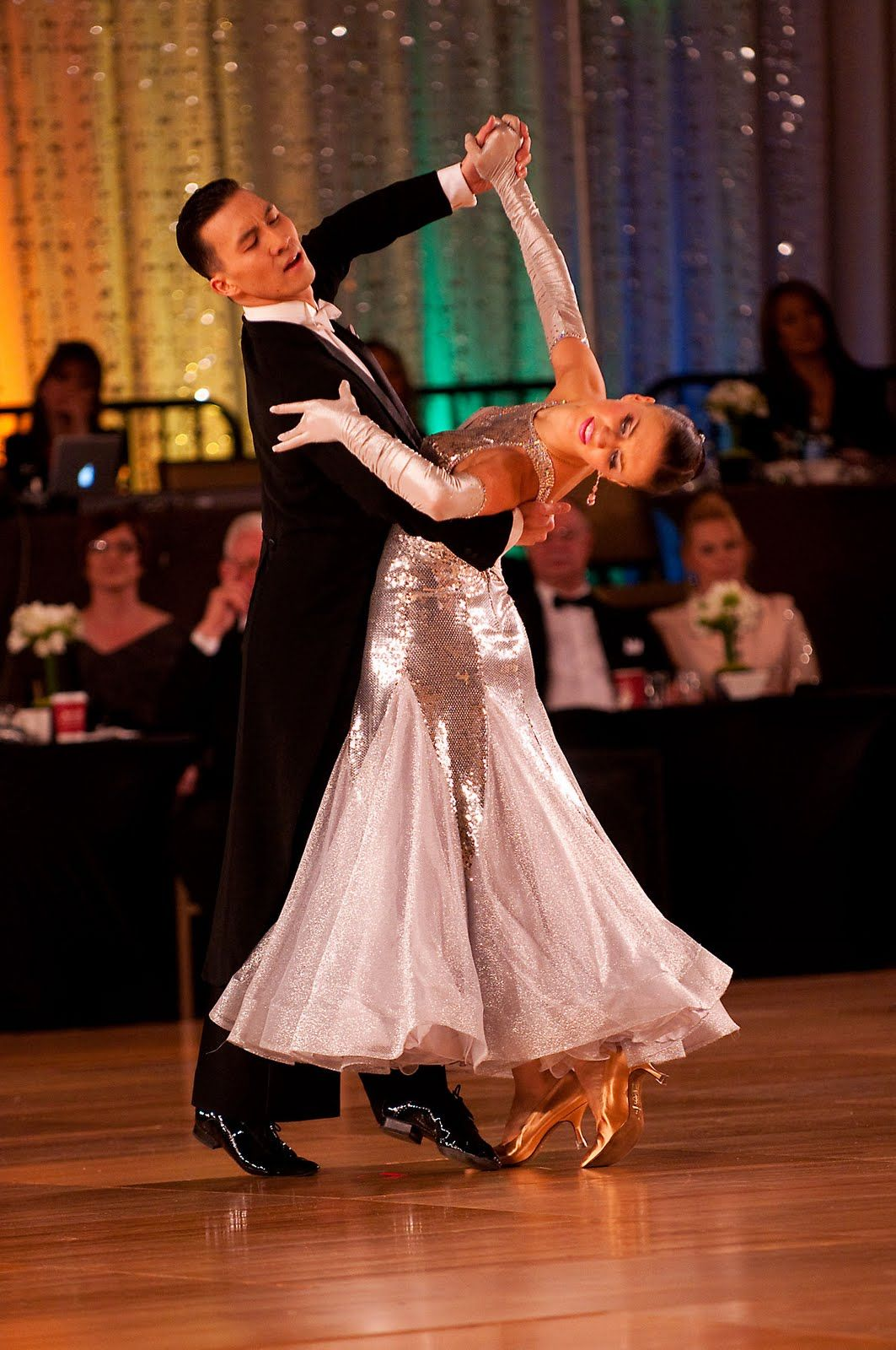 Victor And Anastasia Positioned With Poise Dance Dresses Ballroom Dress Ballroom Dance