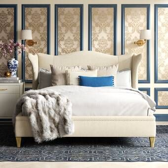 Caracole Classics Upholstered Standard Bed | Perigold