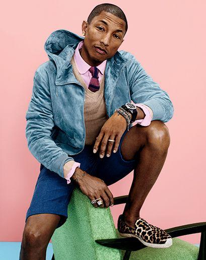 Pharrell Williams GQ Magazine april 2014