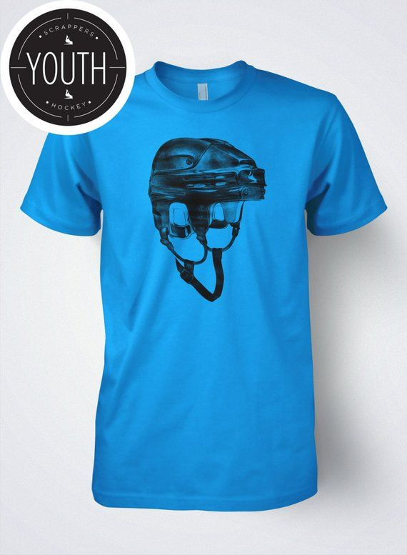 039381d513154 Hockey T shirt for Kids Brain Bucket by Scrappers Hockey | Products ...