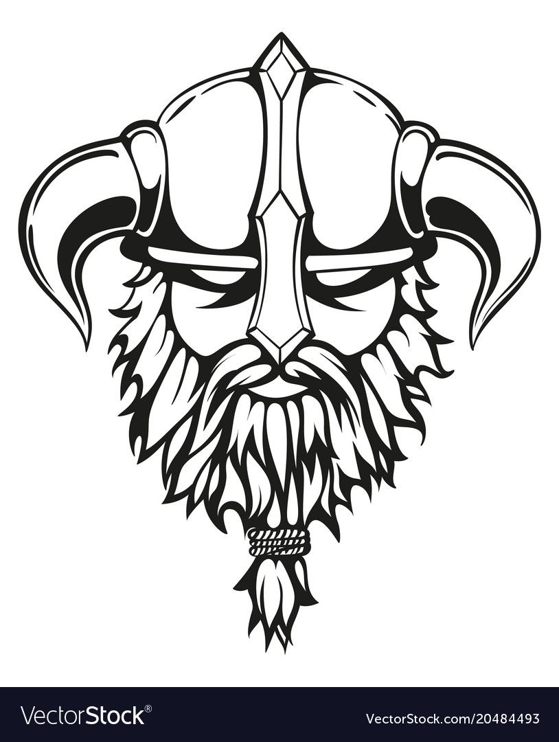 Viking graphic image vector image on in 2020 (With images ...
