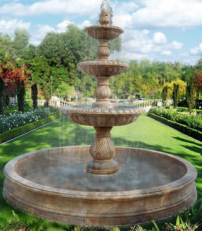 granite fountains - custom designed