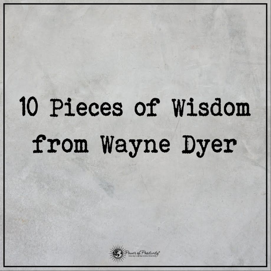 Relationships based on obligation lack dignity wayne dyer - 10 Pieces Of Wisdom From Wayne Dyer