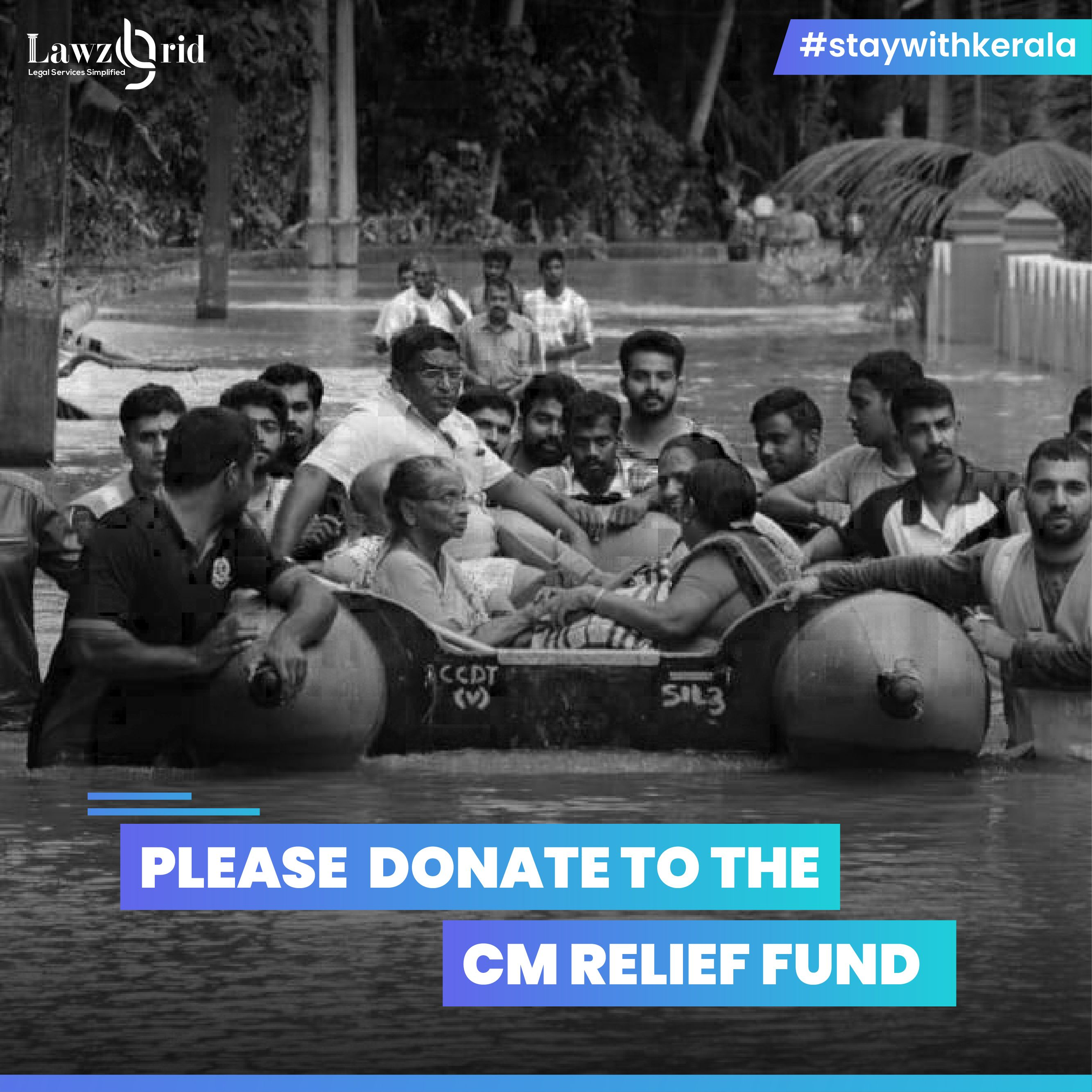 Please Donate to the CM Relief Fund StayWithKerala