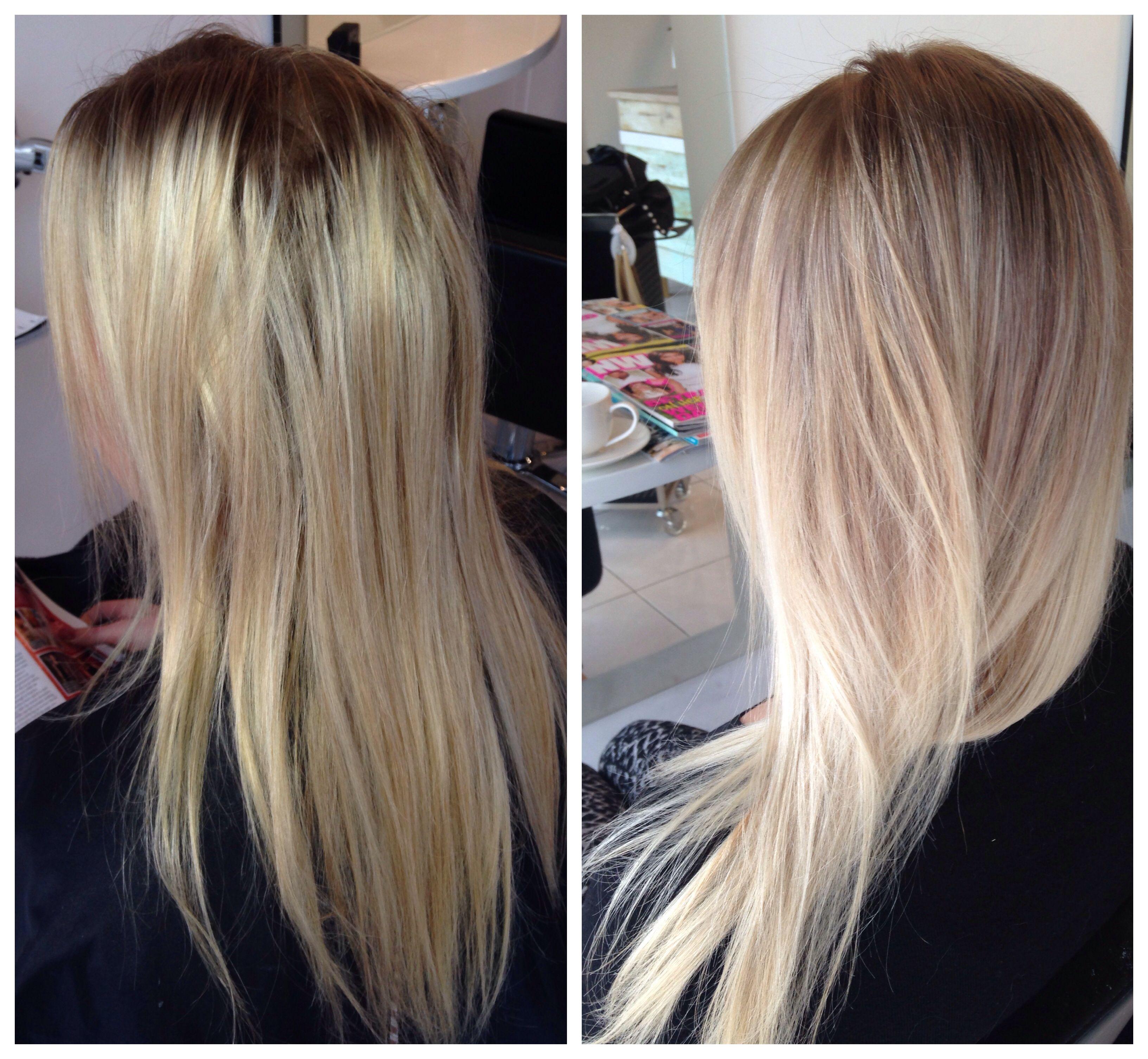 Brassy To Fresh Colour By Viva La Blonde Hair Color Pinterest