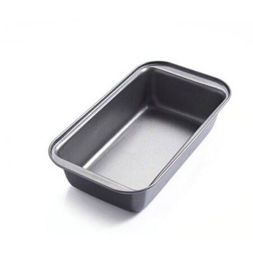 Loaf Pans Rectangle For Baking Bread Nonstick Toast Bread Cake Baking Mold Loaf Tin Steel Bakeware Pan Tray Liner 25cm X 1 No Bake Cake Bread Cake Bread Baking