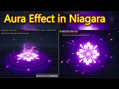 Unreal Engine Aura Effect in Niagara Tutorial YouTube