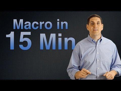 Macroeconomics 15 Minute Review - YouTube