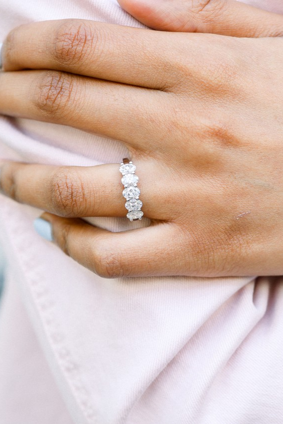 Choose lab grown diamonds for an ethical, sustainable, and luxurious choice. Choose Ada for our easy to navigate custom design process and our approachable and highly knowledgeable concierge team. Discover diamonds of the future today.     #labdiamond #weddingband #adadiamonds #labgrown   ⠀