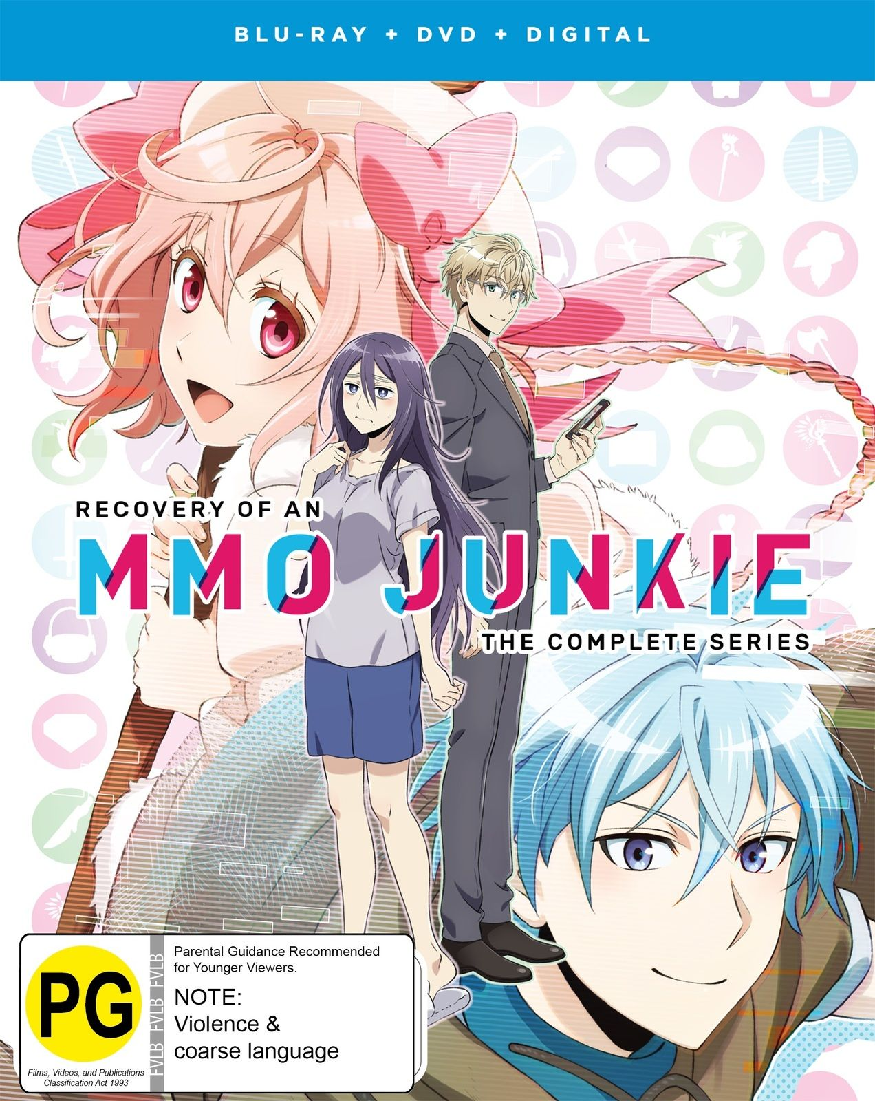 Recovery Of An Mmo Junkie Dvd Blu Ray Recovery Cool Things