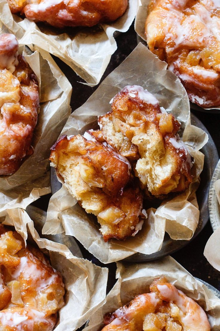 Recipe Glazed Apple Fritters Recipes From The Kitchn Apple Fritters Fritter Recipes Recipes