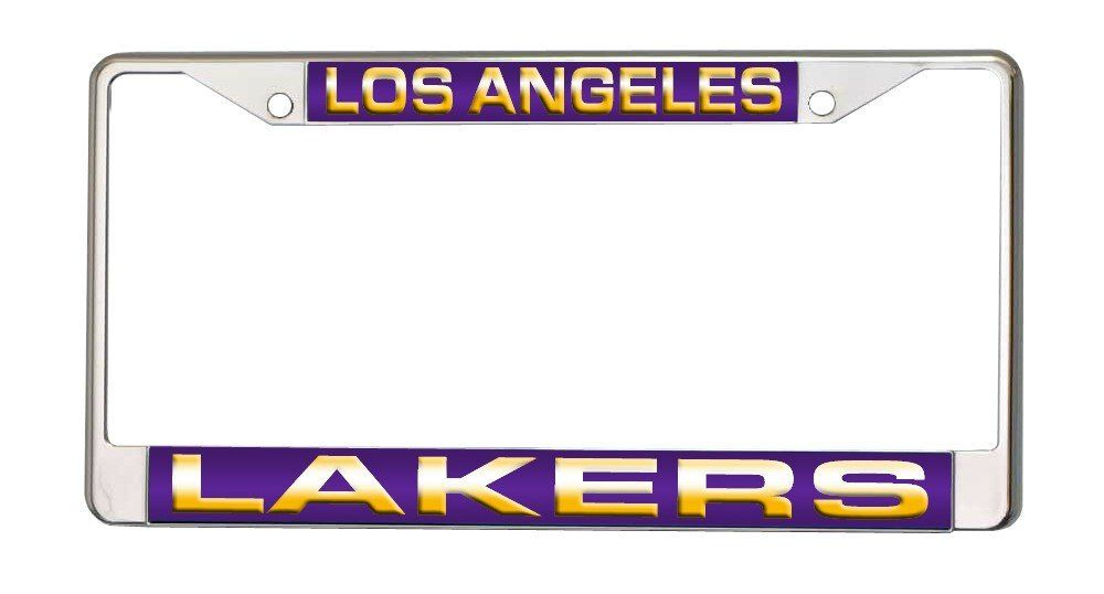 Los Angeles Lakers Laser Cut Chrome License Plate Frame | Pinterest