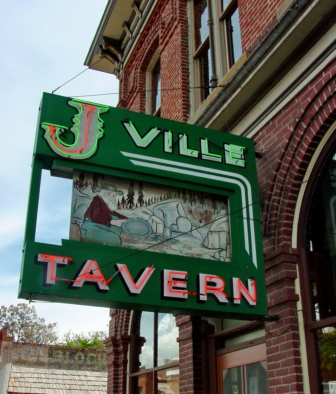 j u0027ville tavern original site jacksonville oregon backyard