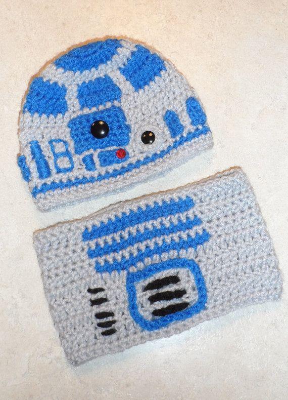 Pattern R2d2 Crochet Hat And Tube Top By Gavandjack On Etsy 300