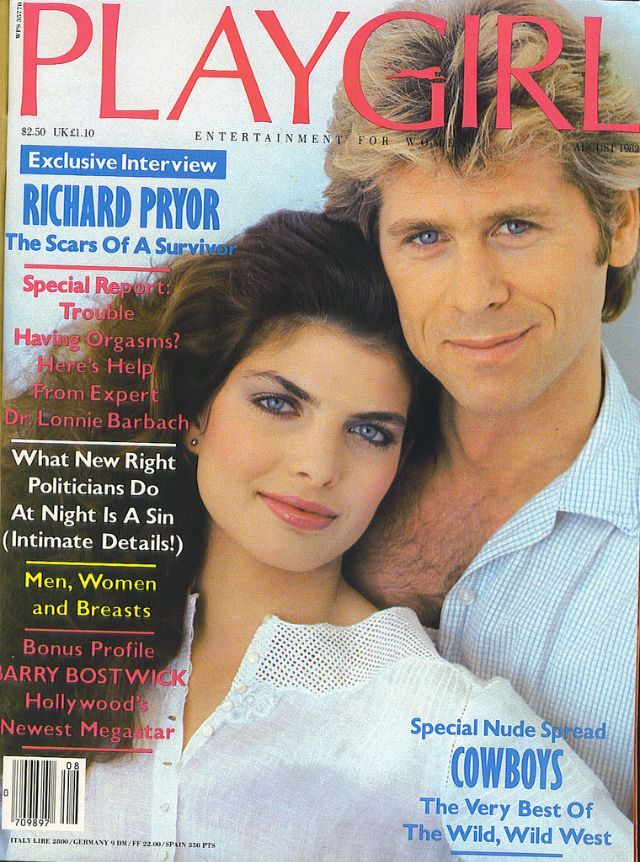 Vintage Everyday Playgirl The Perfect Magazine For Women  35 Pictures Of Attractive Men Covers In The 1980S  Richard Pryor, Pryor-4040