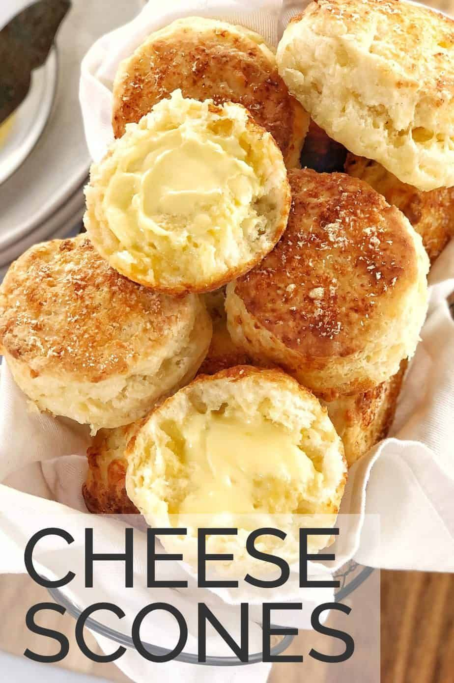Looking For An Easy Recipe For Savoury Cheese Scones These Buttermilk Cheese Scones Are Packed With Cheddar In 2020 Cheese Scones Savoury Food Easy Delicious Recipes