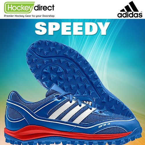 182c34c7e2e3 Adidas SRS 3 Hockey Shoe  Get to the ball quickly with a lightweight ...