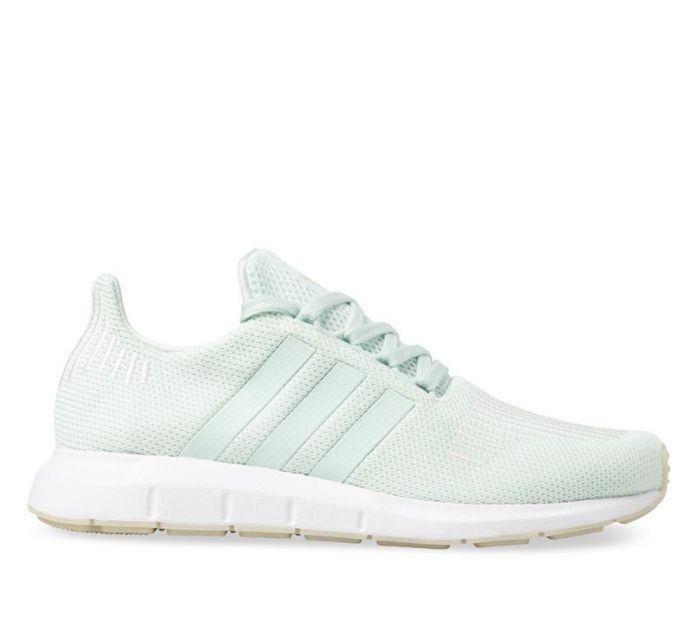 online store 27f0f 03b72 Shop Adidas Womens Swift Run Green Online   Platypus Shoes