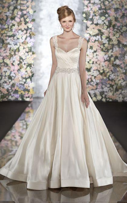 Exquisite designer #wedding dresses by Martina Liana #weddingdresses soft and so pretty www.finditforweddings.com