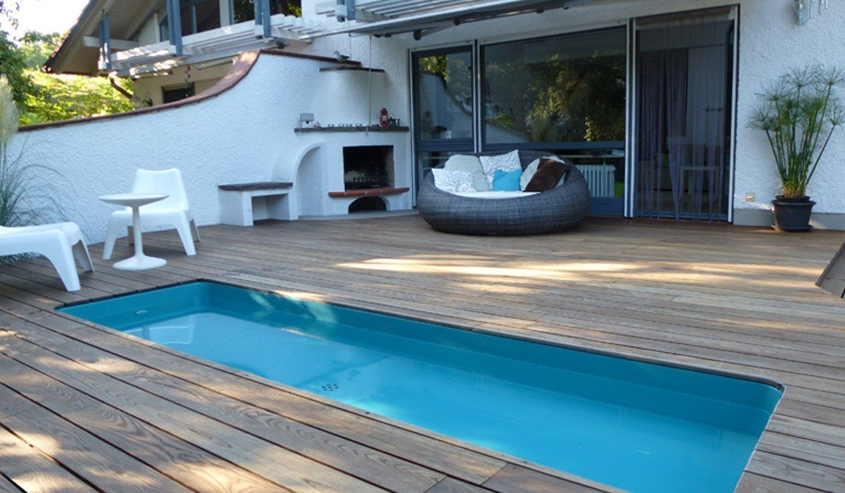 modernes wasserbecken terrasse garten pinterest terrasse g rten und gartengestaltungsideen. Black Bedroom Furniture Sets. Home Design Ideas