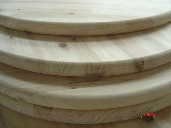 Unfinished Pine Round 30 For Table Top Or Sign Round Wood Table Table Top Outdoor Table Tops