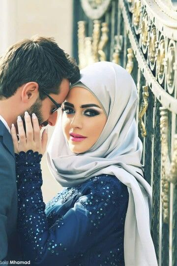 cute muslim couples images