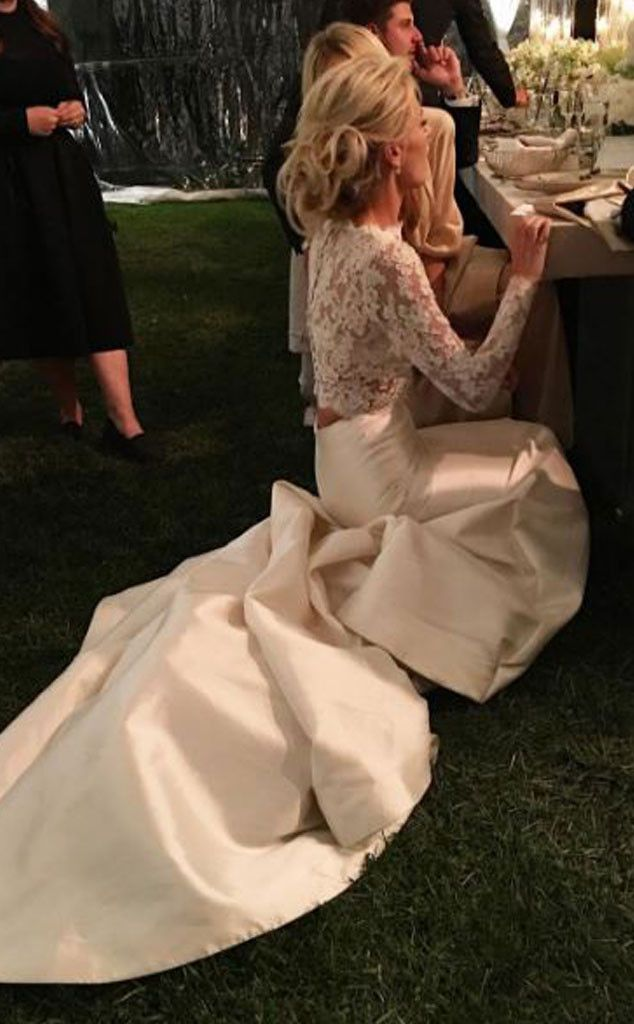 Mix Mingle From Morgan Stewart Brendan Fitzpatrick S Wedding Album Wedding Dress Inspiration Two Piece Wedding Dress Morgan Stewart Wedding