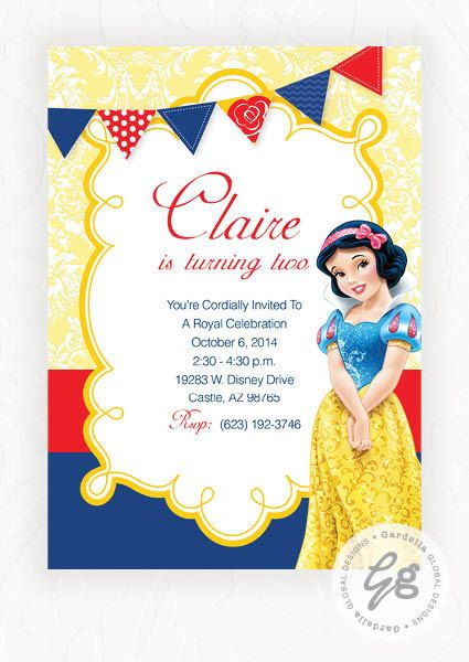 picture about Snow White Invitations Printable identified as Snow White Invitation, Snow White Invitation, Snow White