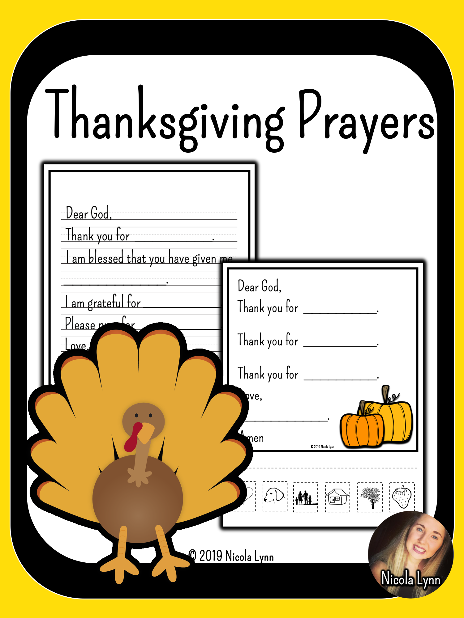 Differentiated Thanksgiving Prayers