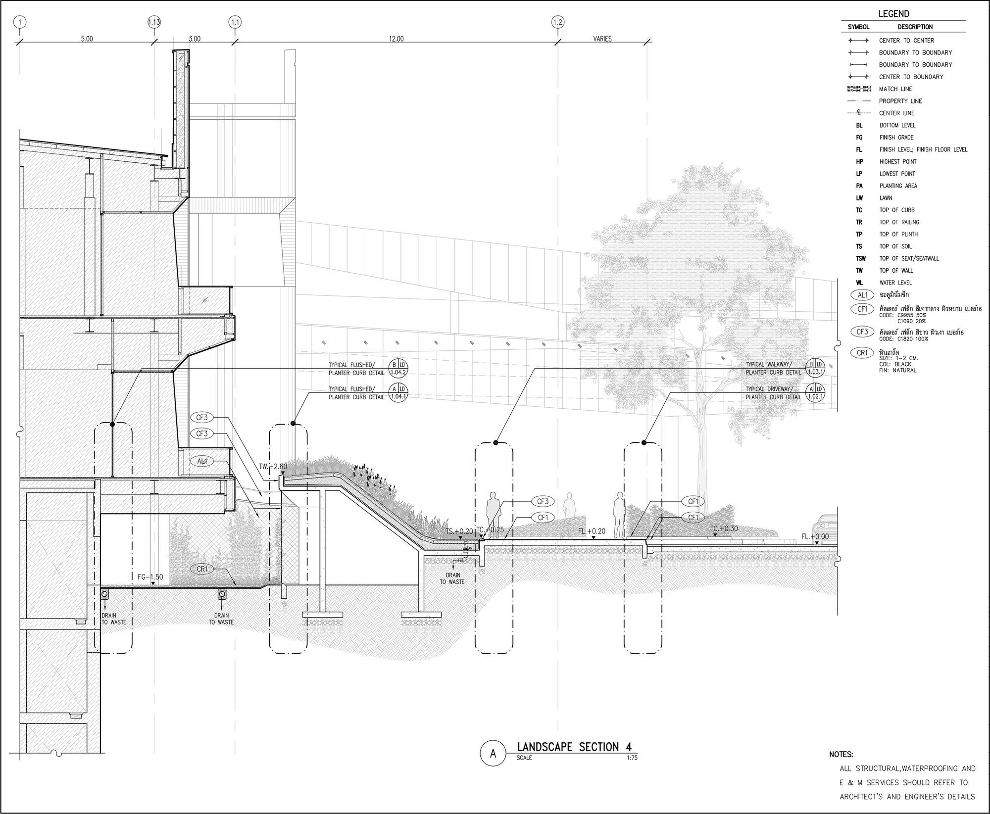 Gallery Of Groove Central World T R O P A49 Sda Fos 21 Architectural Section Architecture Drawing Architecture Presentation