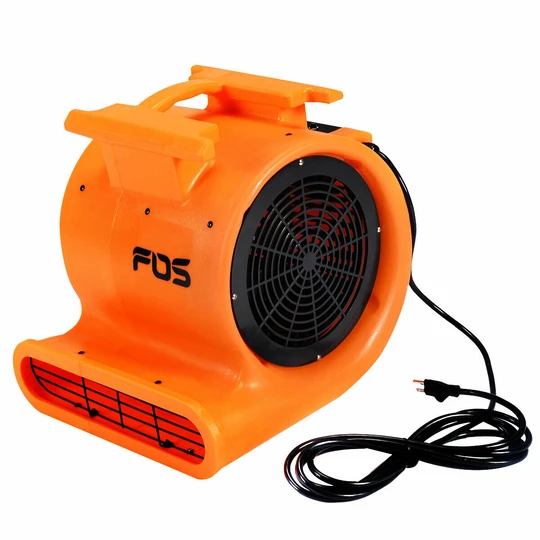 1.0 HP Air Mover Floor Dryer Blower Health And Fitness