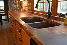 Stained Concrete Countertops Design Ideas, Pictures, Remodel, and ...