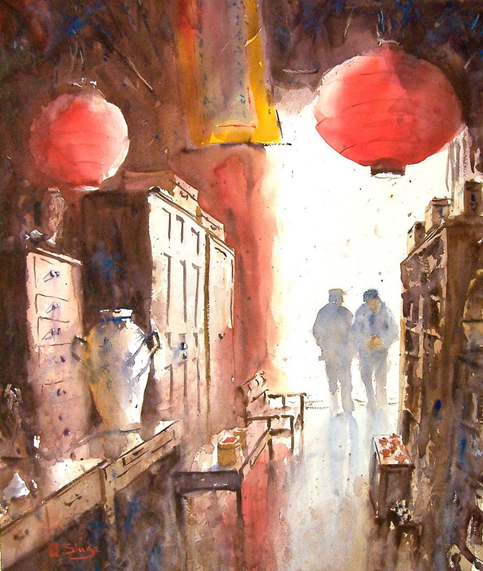 Watercolour Painting Holidays New Zealand » Our tutors portfolio