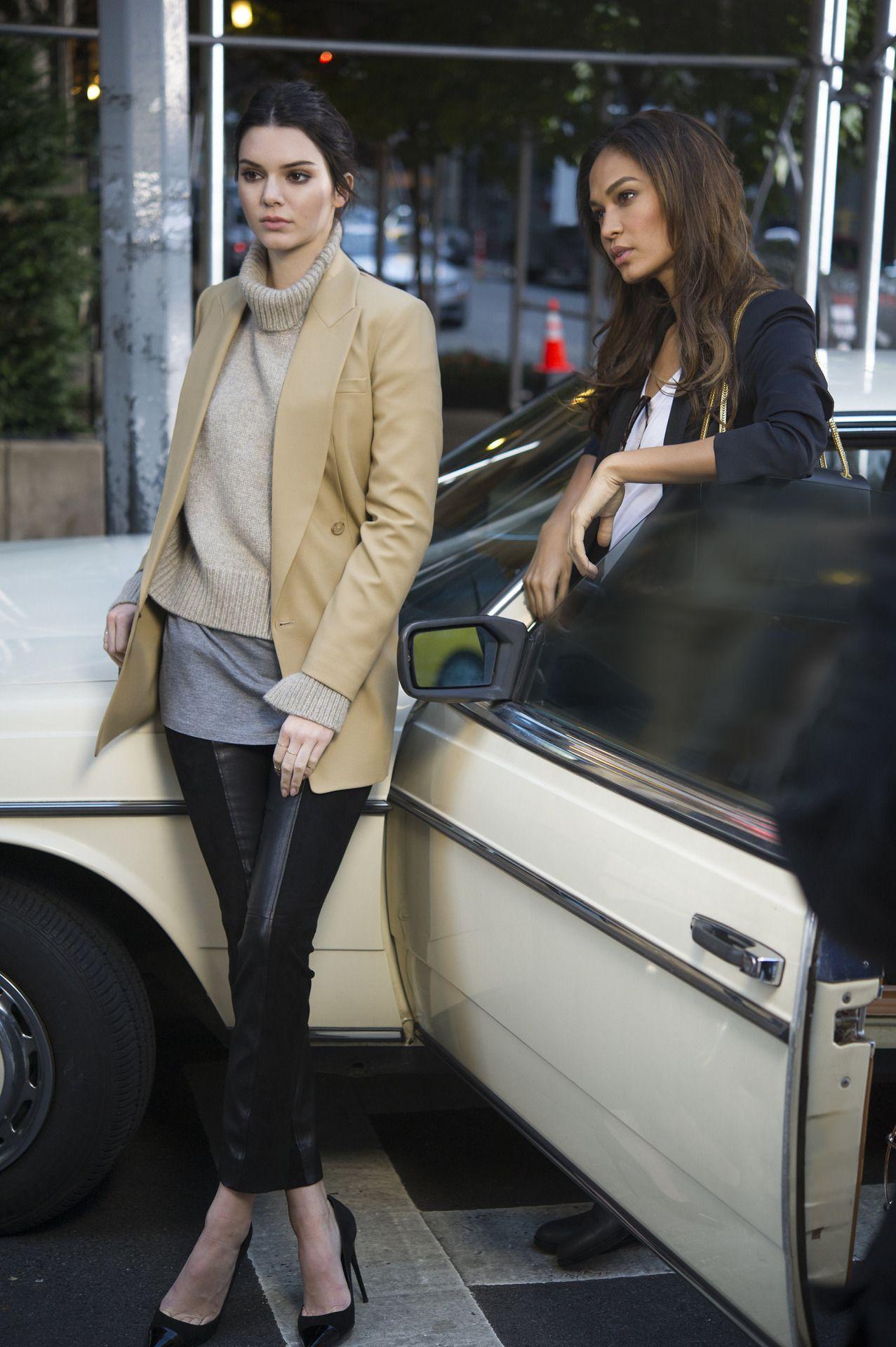 Kendall and Joan for Estée Lauder