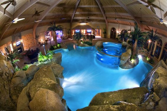 indoor swimming pool design ideas curated by desert pools and spas 389