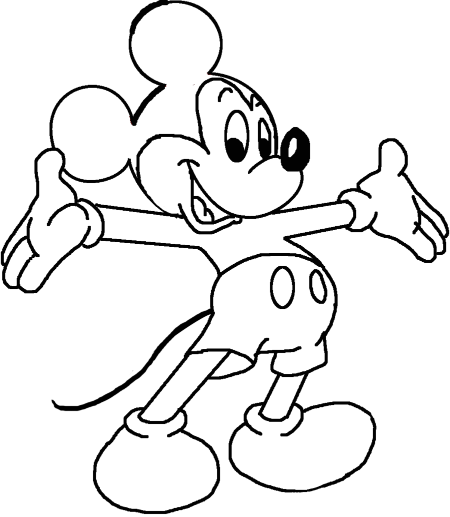 mickey mouse lineart by primavistax d510pxo png 900 1033 art